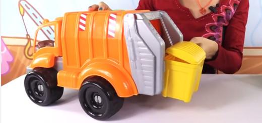 волшебная коробка мусоровоз
