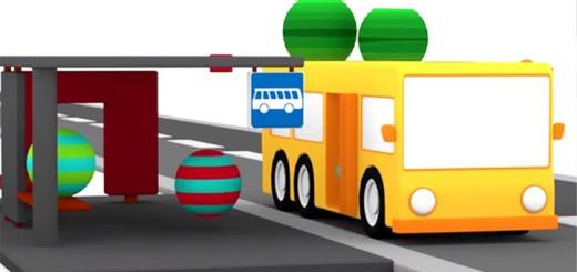 Lehrreicher Zeichentrickfilm Die 4 Kleinen Autos Der Bus