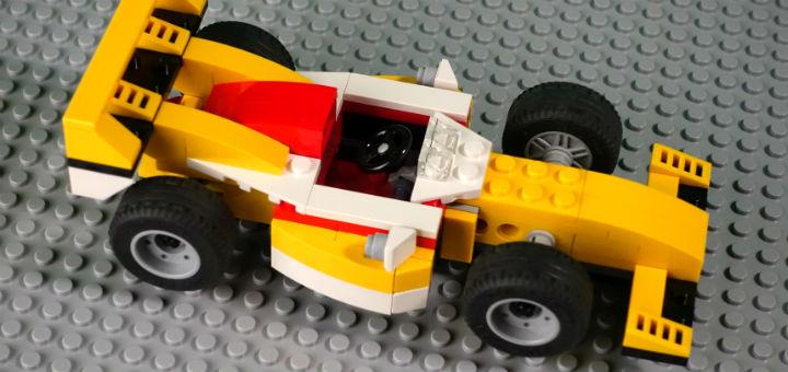 Как сделать гоночную машину из лего