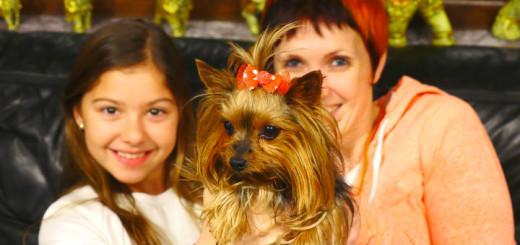 Полен с Машей и собачкой 720