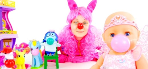 Лера Пивненко. пинки пай и клоунская пати - копия - копия