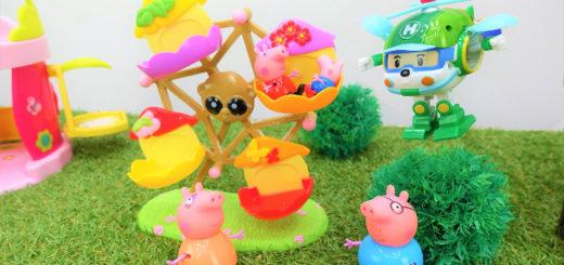 свинка пеппа игрушки капуки кануки