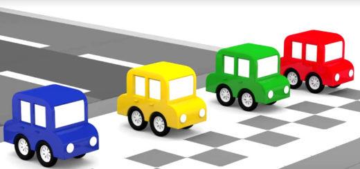 Мультфильм четыре машинки скачать торрент