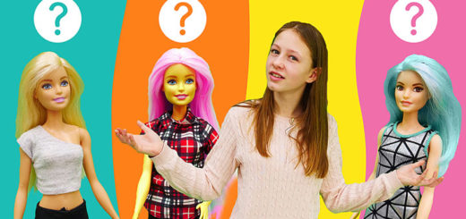 Одевалка для куколки Сери: День шоппинга